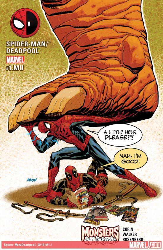 Spider-Man / Deadpool 1.1 - 1.MU - Monsters Unleashed!