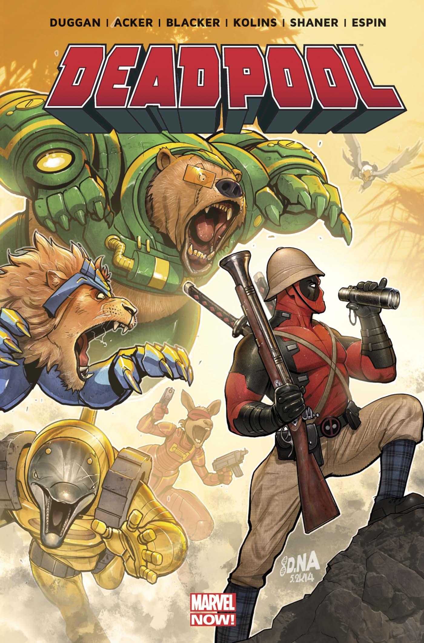 Deadpool - La Mort de Wolverine 1 - On n'est pas des bêtes !