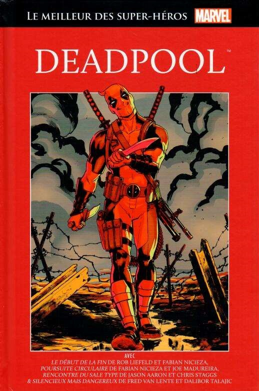 Le Meilleur des Super-Héros Marvel 34 - Deadpool