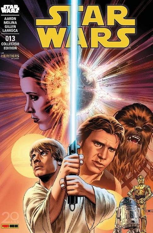 Star Wars 13 - Edition Collector des Héritiers de la Force -  Tirage 1000 exemplaires