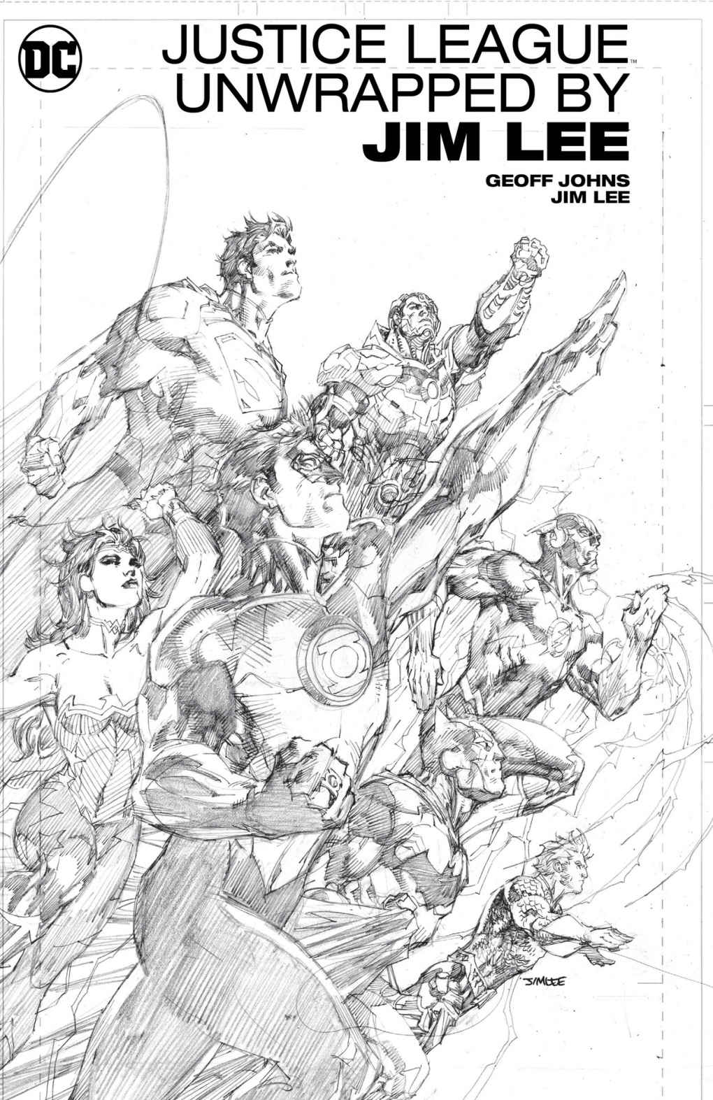 Justice league unwrapped by Jim Lee 1 - Justice League Unwrapped
