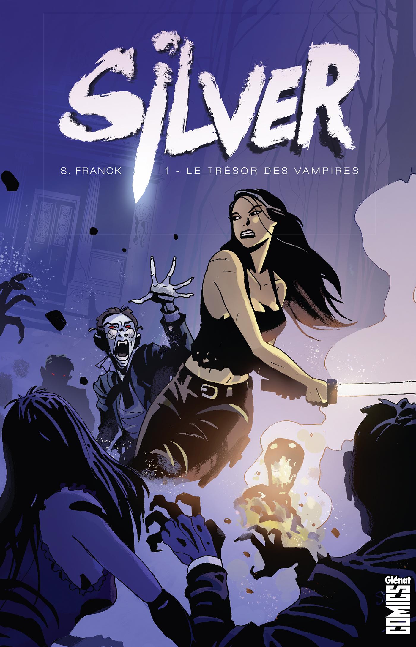 Silver 1 - Le Trésor des vampires