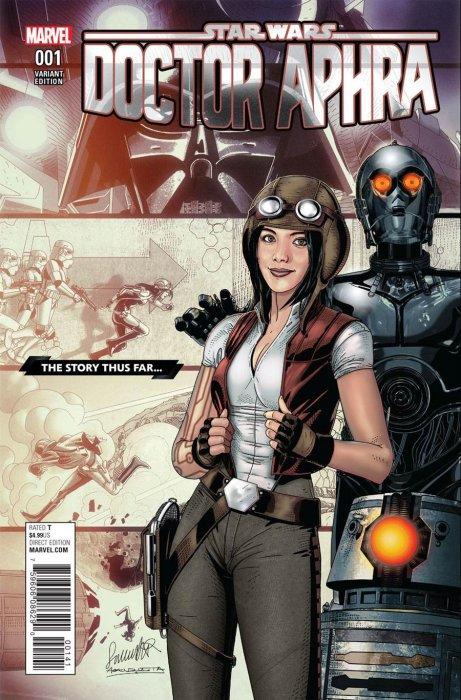 Star Wars - Docteur Aphra 1 - Classified Story Thus Far Variant