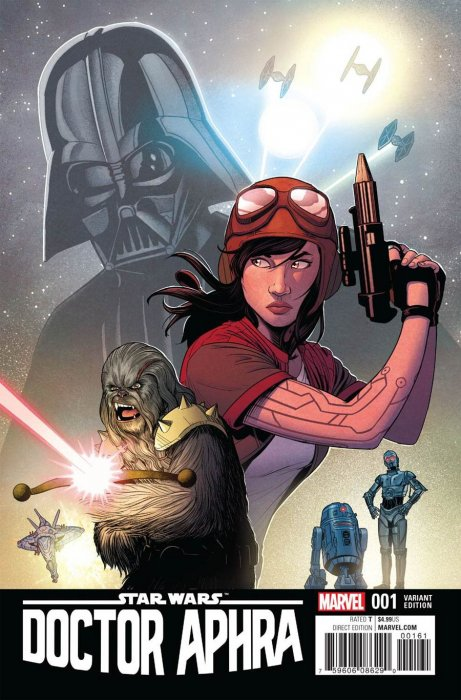 Star Wars - Docteur Aphra 1 - Jamie McKelvie Variant