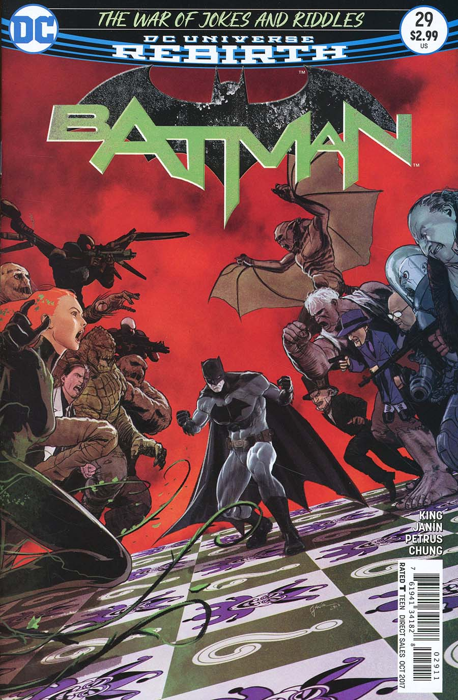 Batman 29 - The War of Jokes and Riddles 4