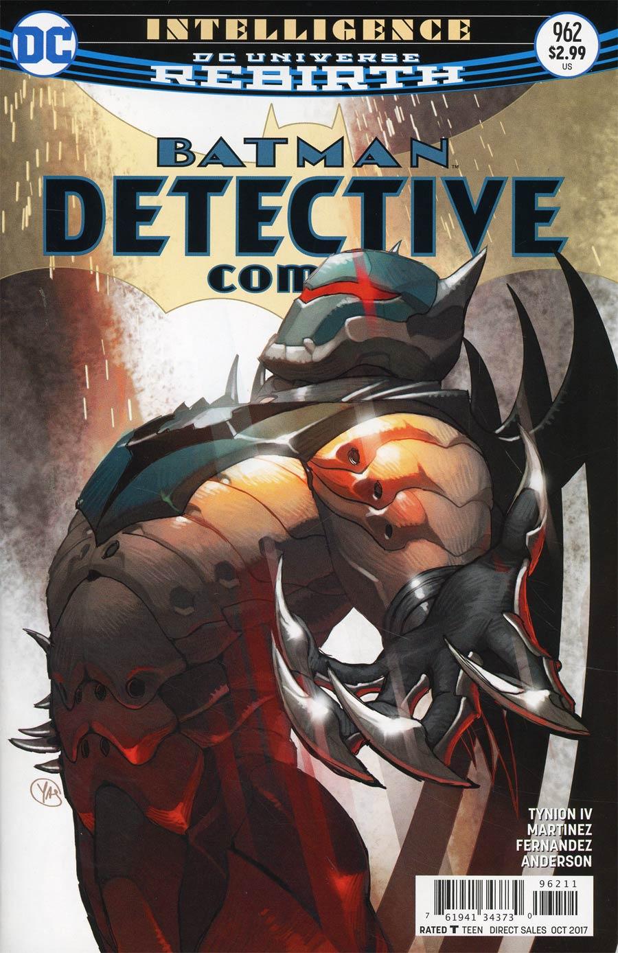 Batman - Detective Comics 962 - Intelligence Finale: Judgment Day
