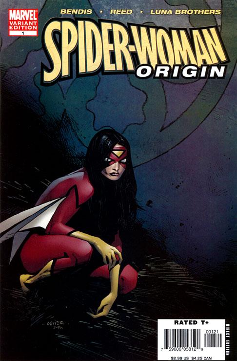 Spider-Woman - Origin 1 - Book One (Coipel Cover)