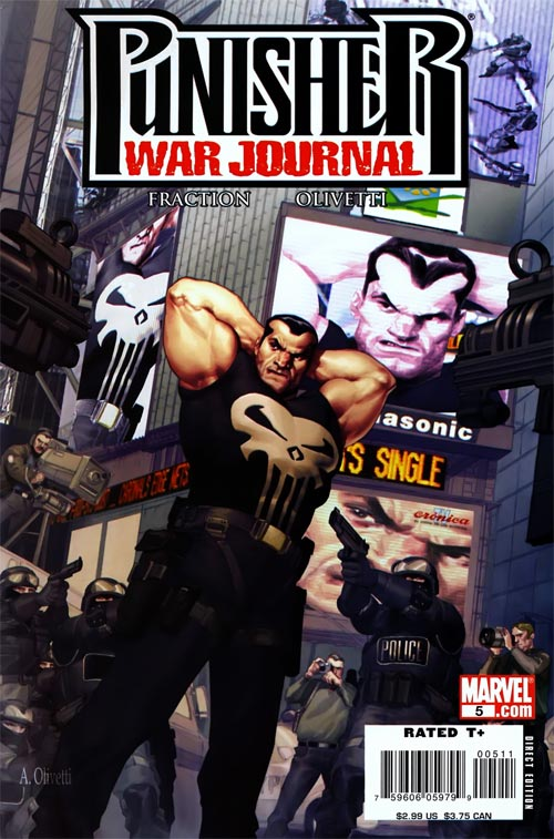Punisher War Journal 5 - NYC Red