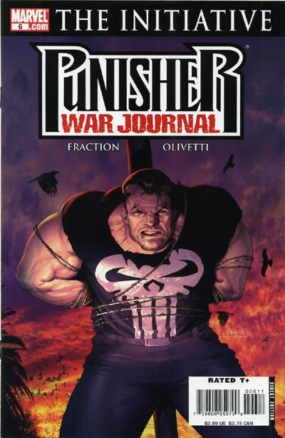 Punisher War Journal 6 - Goin' Out West