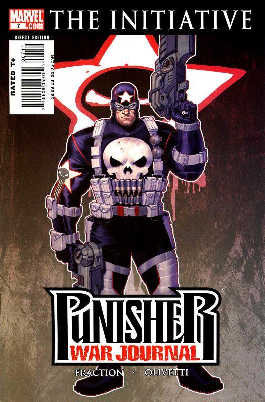 Punisher War Journal 7 - Blood and Sand (Alternate Costume)