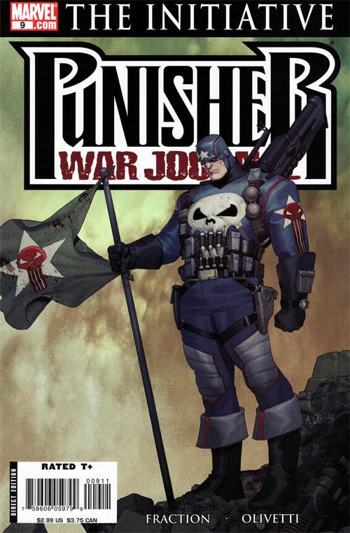Punisher War Journal 9 - Duel