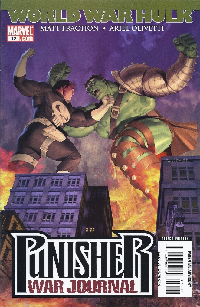 Punisher War Journal 12 - World War Frank