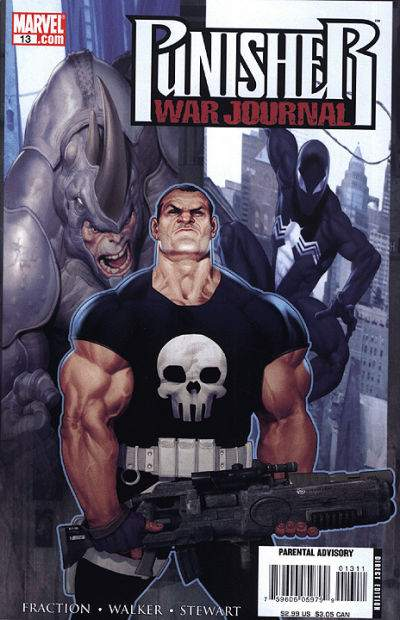 Punisher War Journal 13 - Hunter / Hunted, Part 1