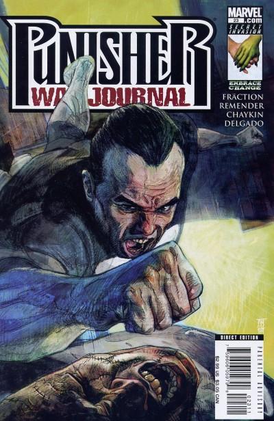 Punisher War Journal 23 - Jigsaw, Part 6 of 6