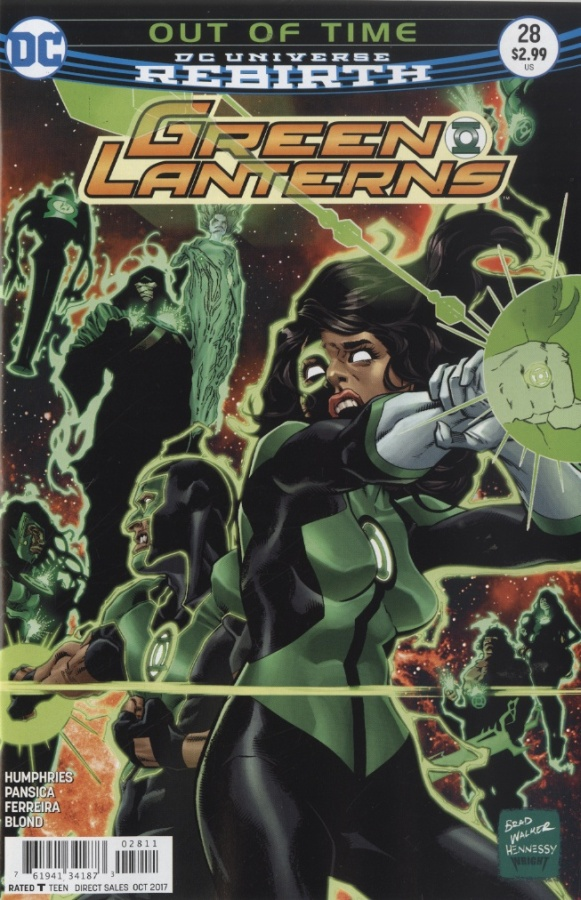 Green Lanterns 28 - Out of Time