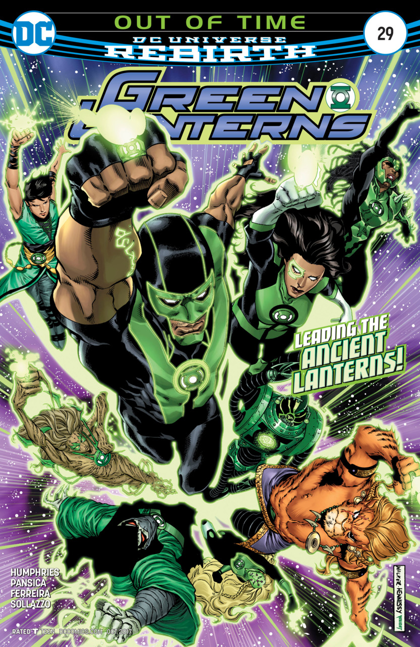 Green Lanterns 29 - Out of Time