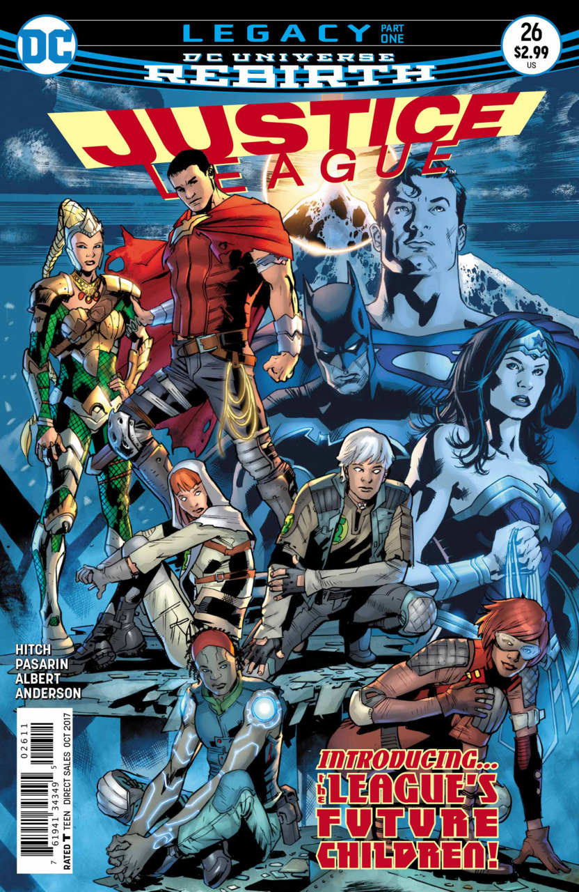 Justice League 26 - 26 - cover #1