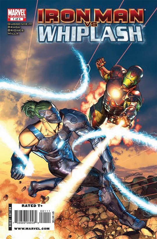Iron Man Vs. Whiplash 1