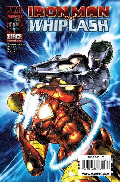 Iron Man Vs. Whiplash 2