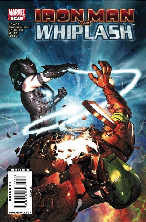 Iron Man Vs. Whiplash 3