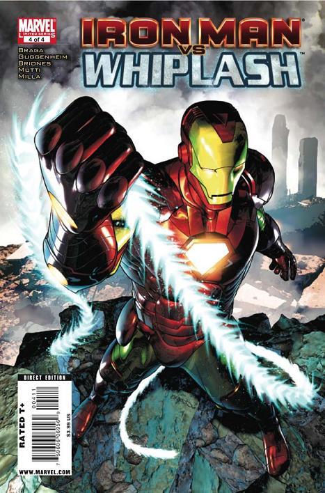 Iron Man Vs. Whiplash 4