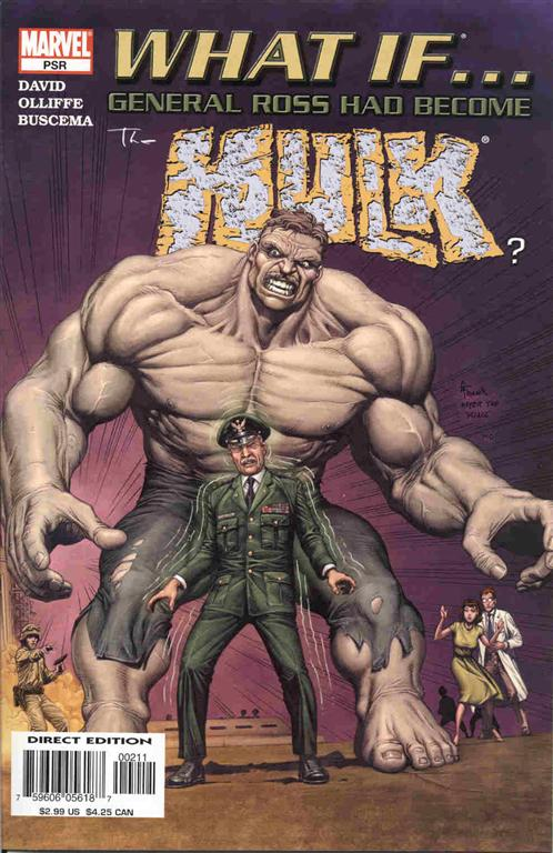 What If... General Ross Had Become the Hulk? 1 - What If... General Ross Had Become The Hulk