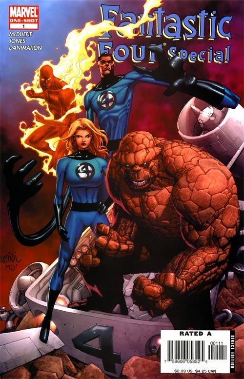 Fantastic Four 1 - My Dinner With Doom