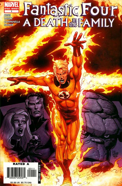 Fantastic Four - A Death in the Family 1 - A Death in the Family