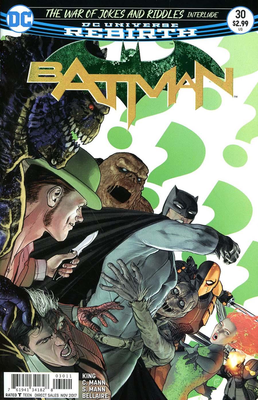 Batman 30 - The War of Jokes & Riddles Interlude: The Ballad of Kite Man