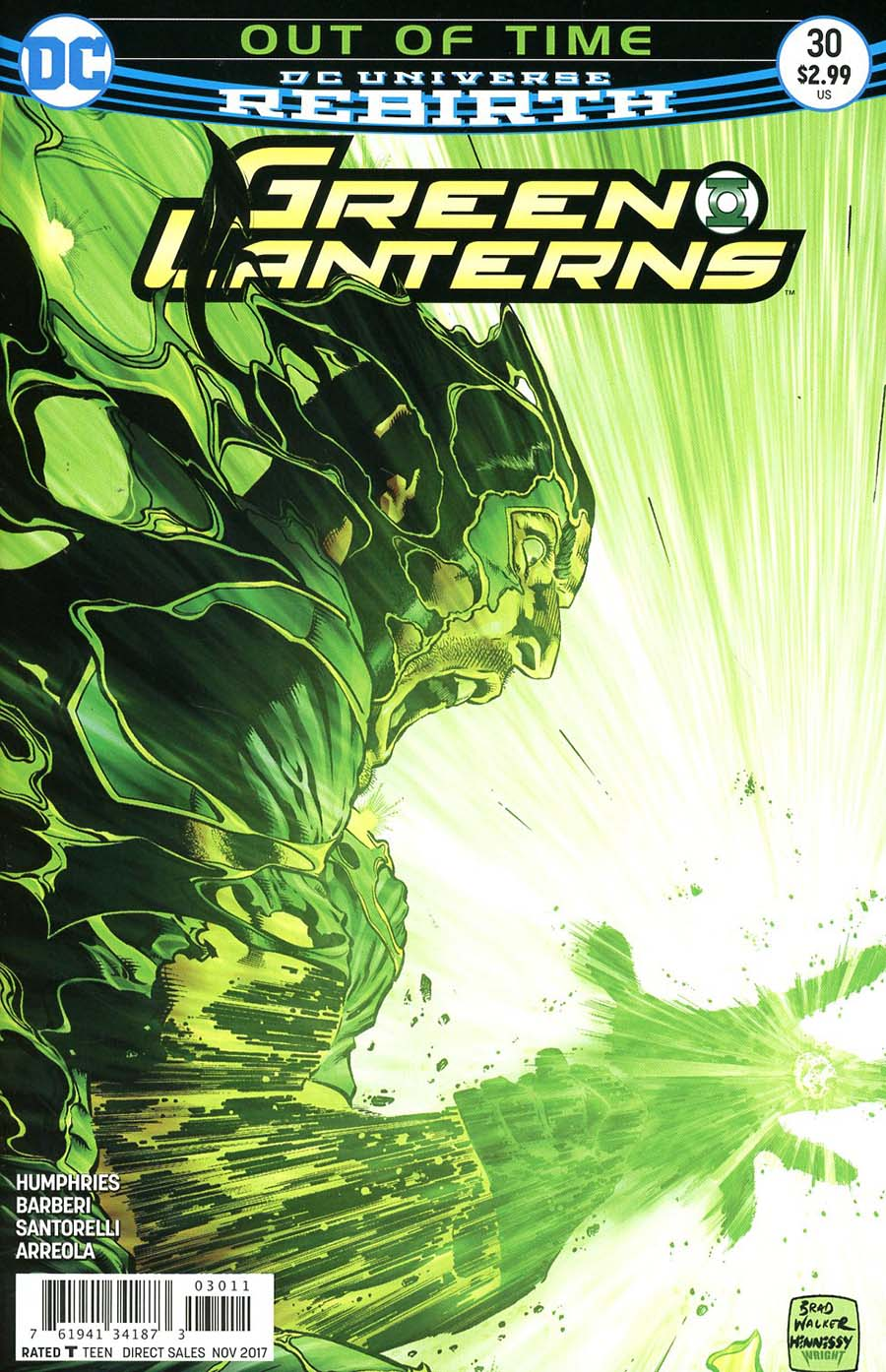 Green Lanterns 30 - Out of Time: Never Quit