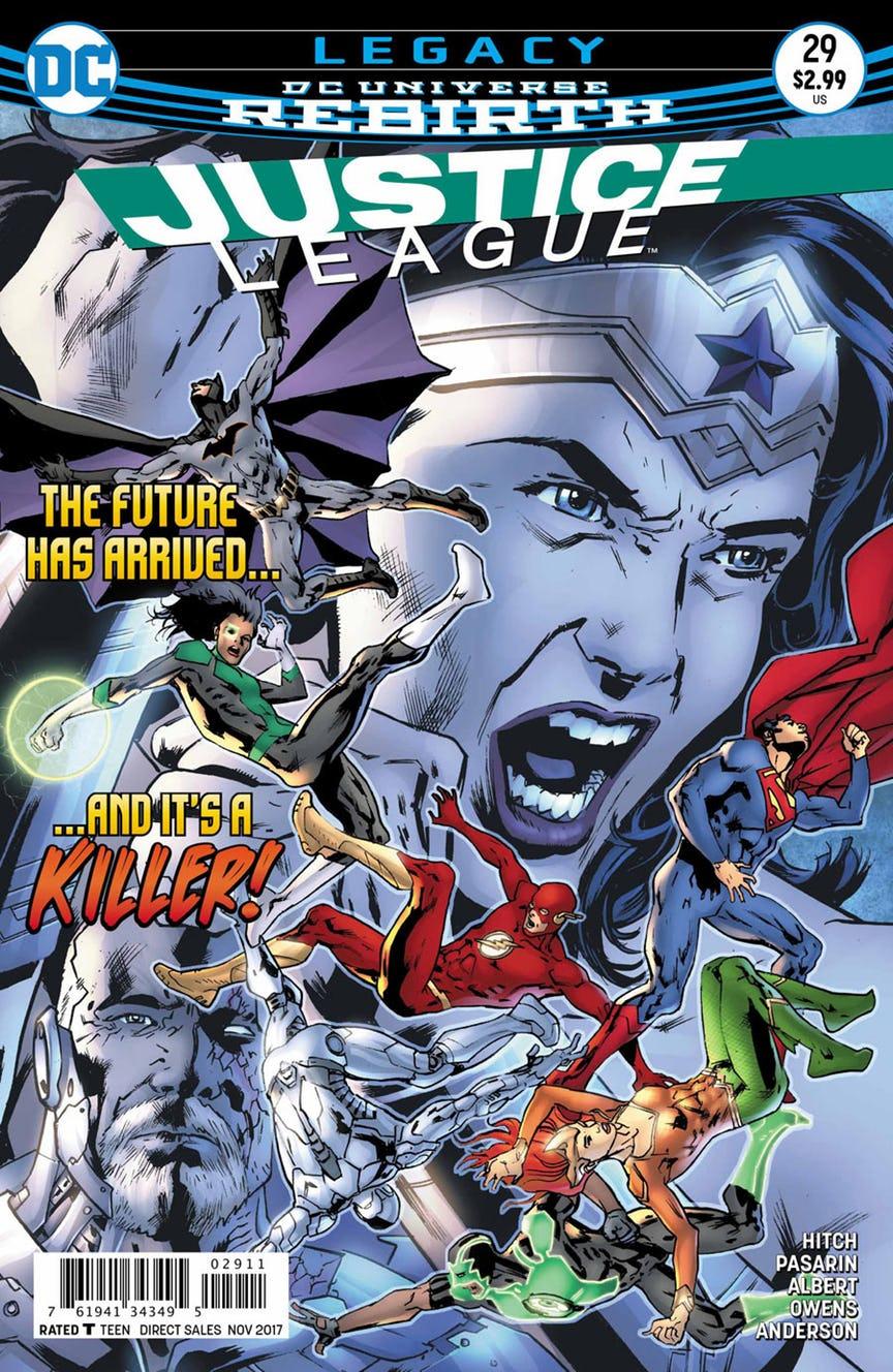 Justice League 29 - Legacy 4