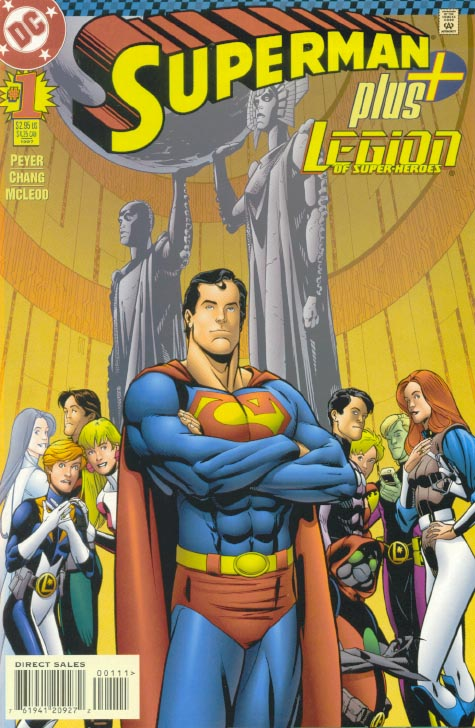 Superman Plus Legion of Super- Heroes 1 - Yesterday, Today and Tomorrow