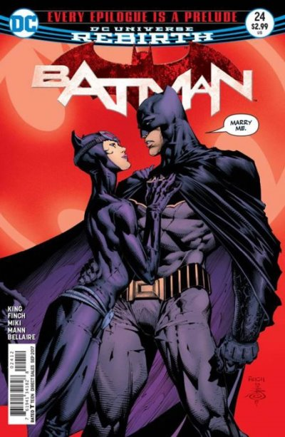 Batman 24 - 2nd print variant cover