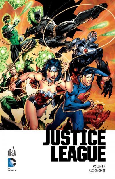 Collection Urban Premium 4 - Justice League – Aux origines