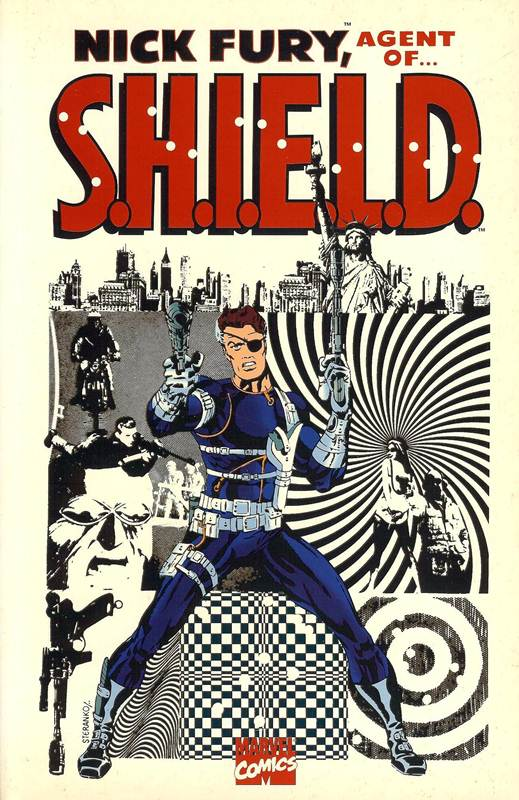 Nick Fury 1 - (Second Printing)