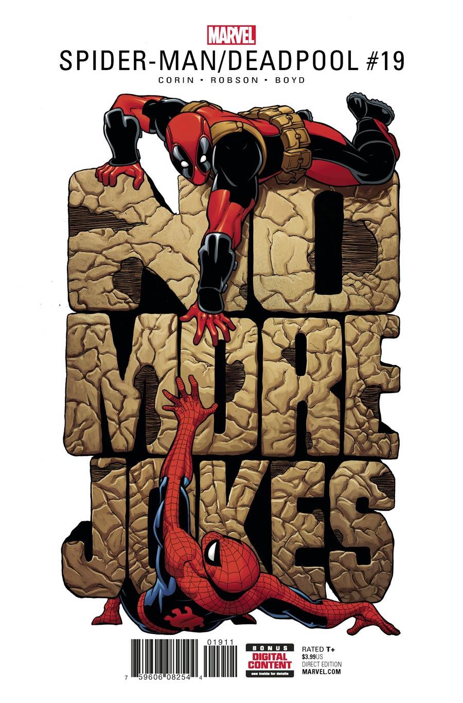 Spider-Man / Deadpool 19 - No Laughing Matter Part 1