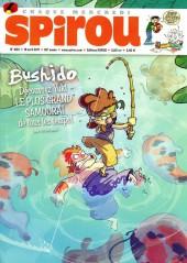 Le journal de Spirou 4123 - Bushido. Découvrez Yuki, le plus grand samouraï de tous les temps !