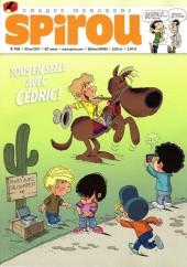 Le journal de Spirou 4125 - Tous en selle avec Cédric