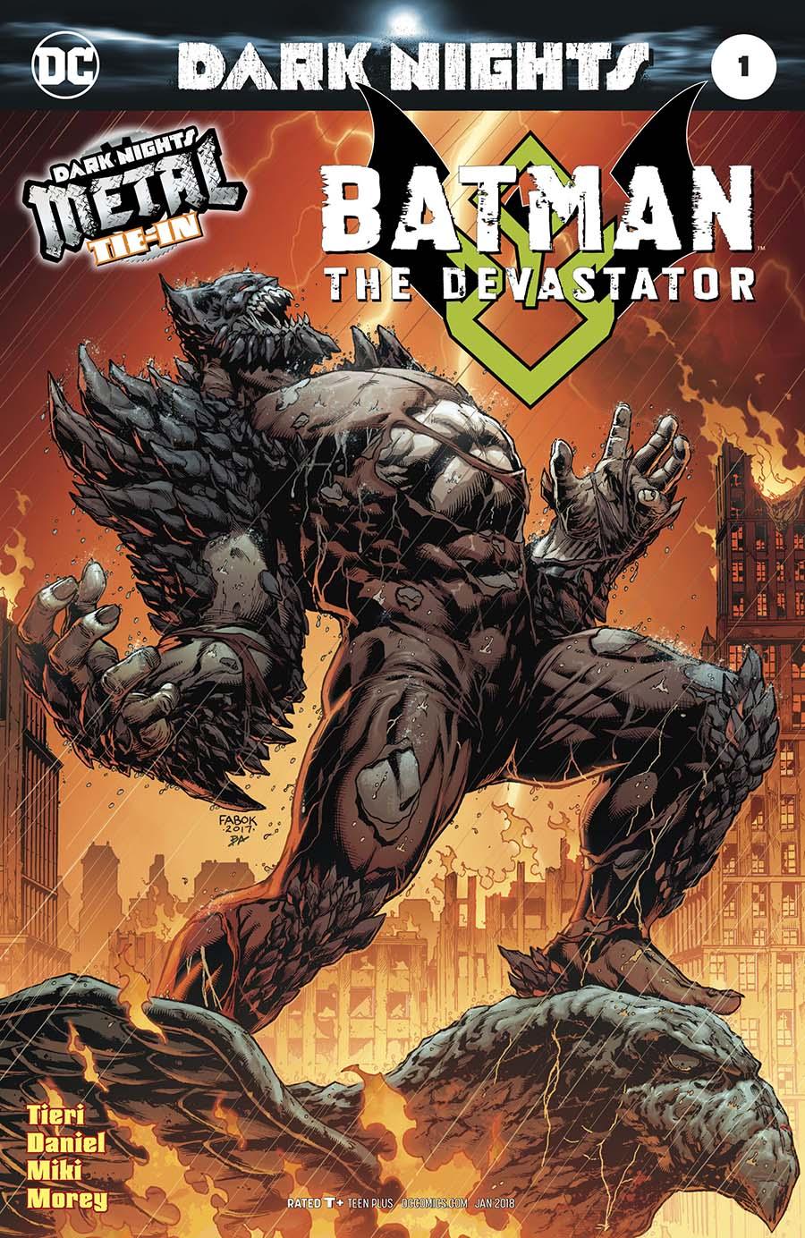 Batman - The Devastator 1 - Symphony of Destruction