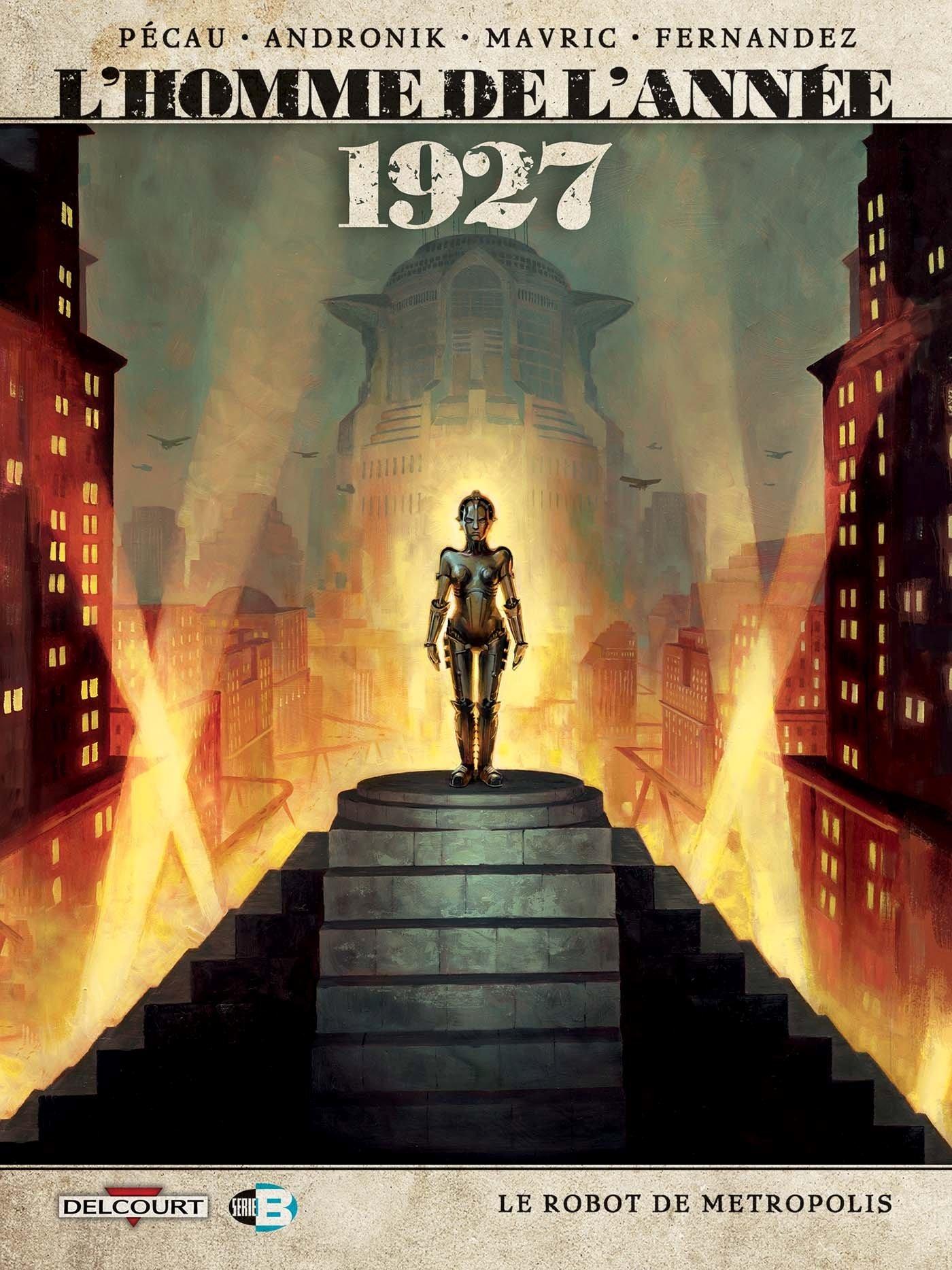 L'Homme de l'année 12 - 1927 - Le robot de Metropolis