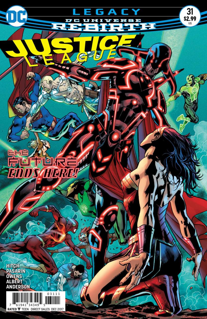 Justice League 31 - Legacy - Finale