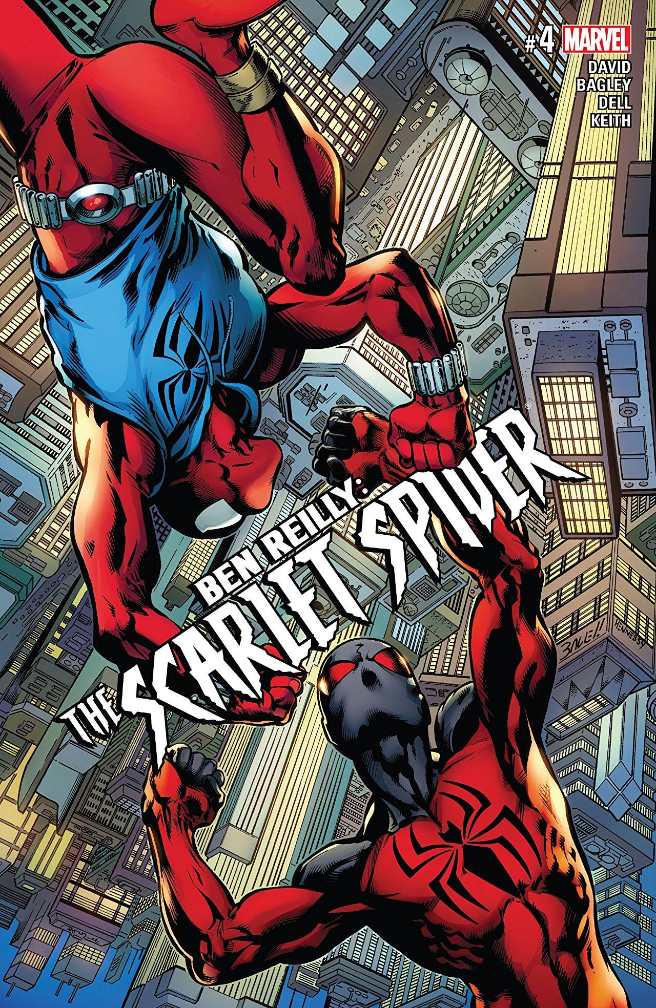 Ben Reilly - Scarlet Spider 4