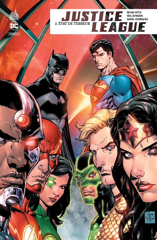 Justice League Rebirth 2 - Etat de terreur