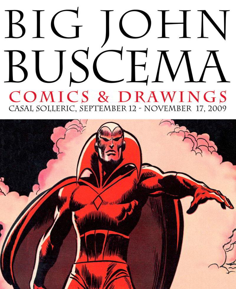 Big John Buscema 1 - Big John Buscema: Comics & Drawings (1927-2002)