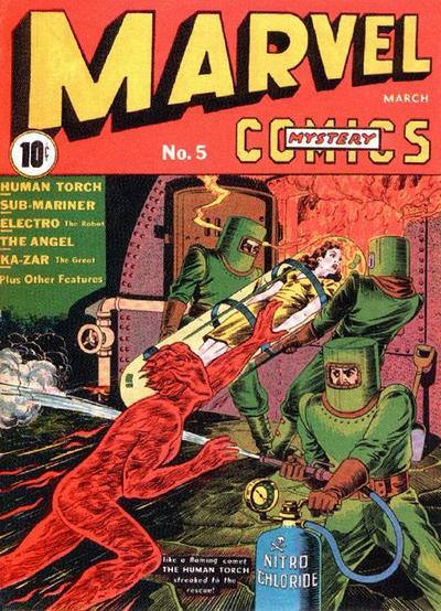 Marvel Mystery Comics 5