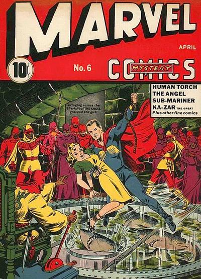 Marvel Mystery Comics 6