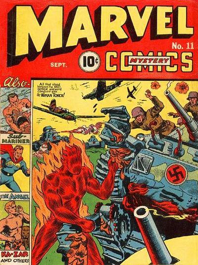 Marvel Mystery Comics 11