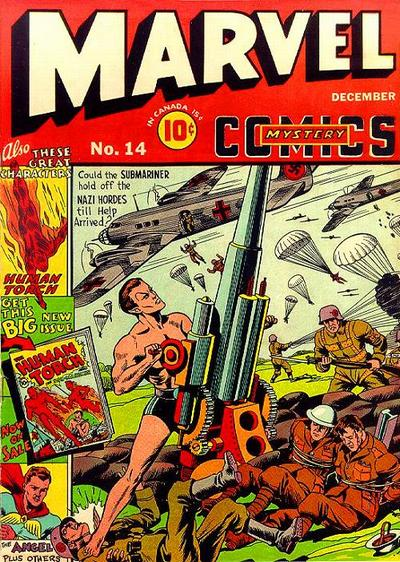 Marvel Mystery Comics 14