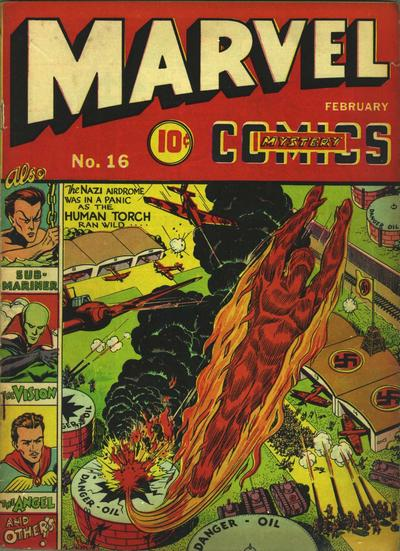 Marvel Mystery Comics 16