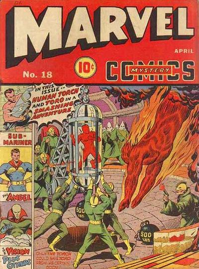 Marvel Mystery Comics 18